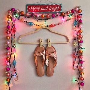 ✨ Jeffrey Campbell Rose Gold Zocalo Slide Sandal ✨